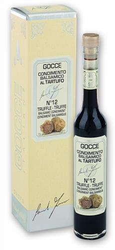 J0224 Truffle Balsamic Condiment - 12 Travasi - J0224 (100 ml - 3.38 fl. oz)