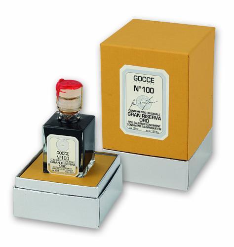 J0380 Condimento Balsamico Gran Riserva Oro - 100 Travasi (50 ml - 1.69 fl. oz)
