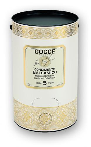 J0862 Condimento Balsamico 5 travasi