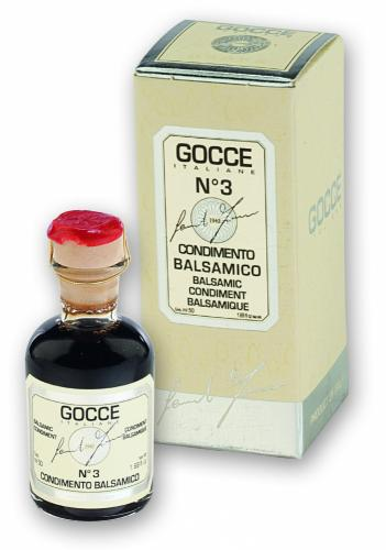 K0272 Condimento Balsamico - 3 Travasi (50 ml - 1.69 fl. oz)