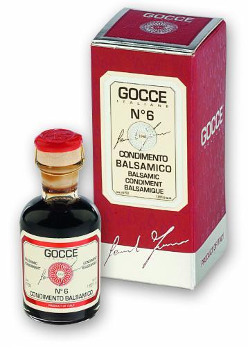 K0274 Condimento Balsamico - 6 Travasi (50 ml - 1.69 fl. oz)