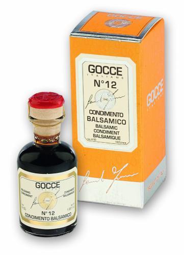 K0276 Condimento Balsamico - 12 Travasi (50 ml - 1.69 fl. oz)