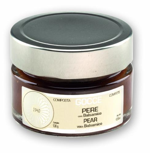 Pear Compote with Balsamic - K0614 (130 g - 4.58 oz)
