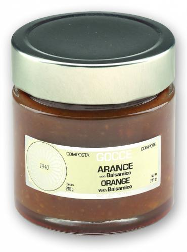 Orange Marmalade - Compote with Balsamic - K0650 (210 g - 7.41 oz)