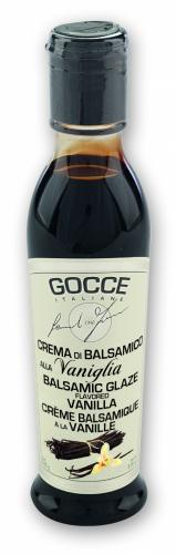 K0940 Balsamic Glaze -Vanilla -  (220 g - 7.76 oz)