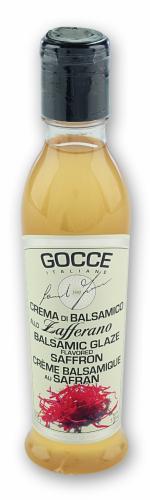 K0942 Balsamic Glaze - Saffron (220 g - 7.76 oz)