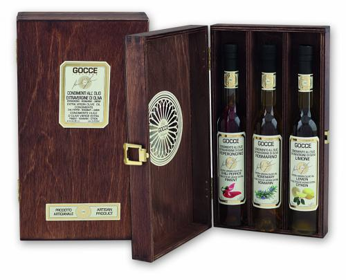 K1610 Wood set with 3 Flavoured Oils (3x100 ml - 3x3.38 fl. oz)