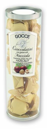 Dark Chocolate Bonbons with Hazelnut filling - K3002/P (350 g - 12.35 oz)