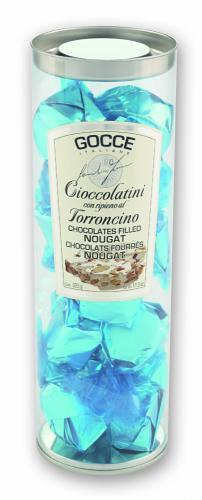 Praline di Cioccolato Fondente con ripieno al Torroncino - K3004/P (350 g - 12.35 oz)