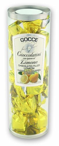 Praline di Cioccolato Fondente con ripieno al Limone - K3007/P (350 g - 12.35 oz)